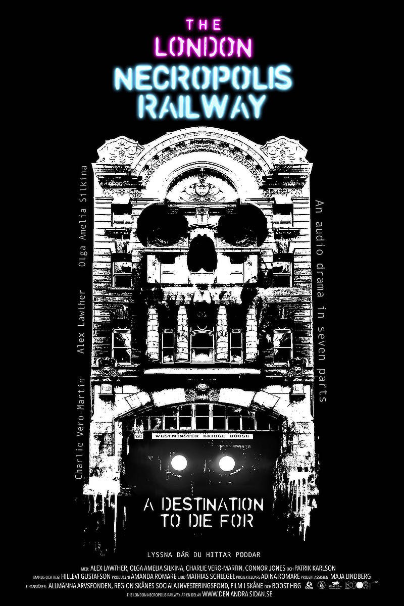 The London Necropolis Railway poster